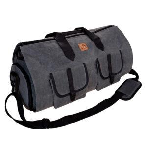 charcoal garment bag